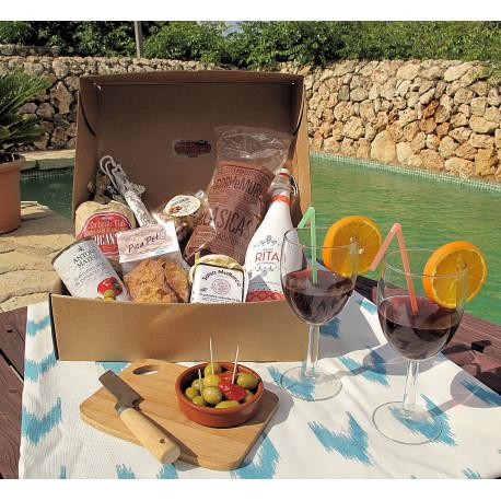 """Caja """"Vacaciones en Mallorca"""""""